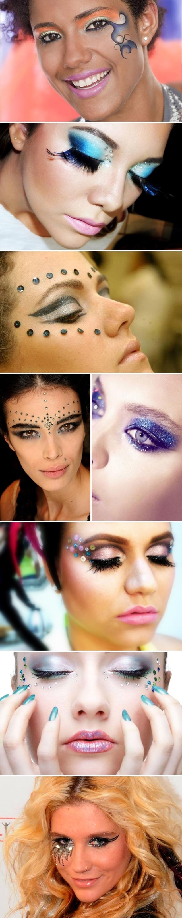 maquiagem de carnaval blog pirueiras